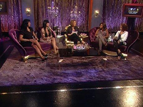 The four ladies take center stage