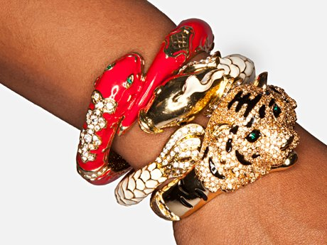 Yandy's beautiful bracelets.