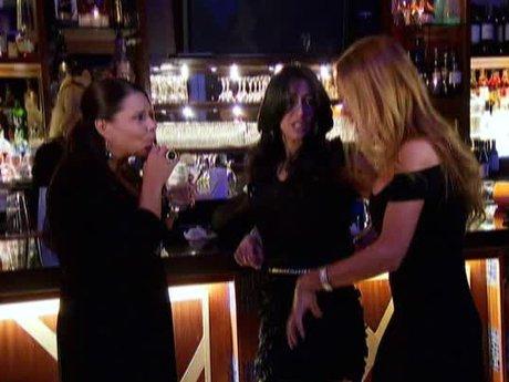 Drita tries to calm the situation between Renee and Karen.