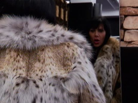 Renee goes shopping for some new furs.