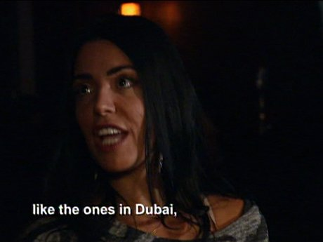 Ramona reflects upon her jet-setting days in Dubai. Fancy!
