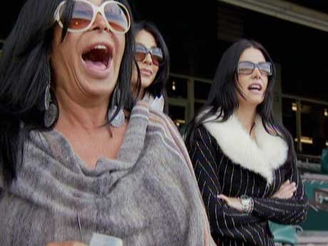 Big Ang and the girls head to the race tracks!