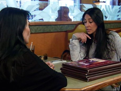 Carla and Renee talk over their differences, and Renee realizes she was overreacting.