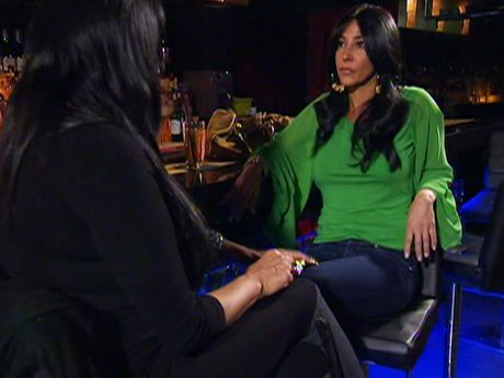 Carla vents to Big Ang about Joe's absence.