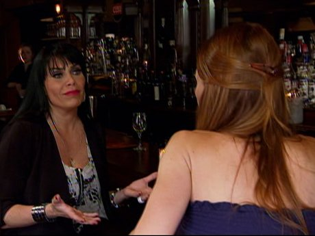 Renee tries to prepare Drita for meeting with Karen.