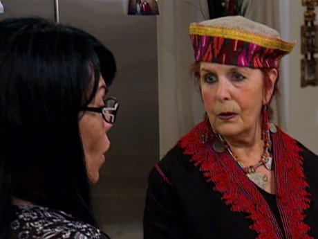 Renee asks a spiritual cleanser to rid her home of evils.
