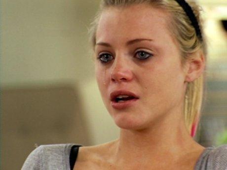 Ashleigh gets emotional.
