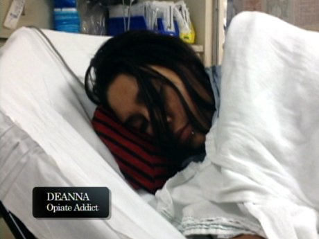 Fortunately, Deanna is safe, but is just experiencing severe withdrawal.