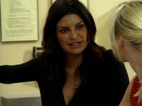 Jennifer notices that Erika is acting strange.
