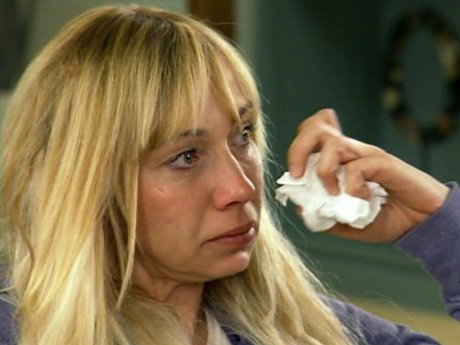 Heather is very shaken from her fight with Eric.