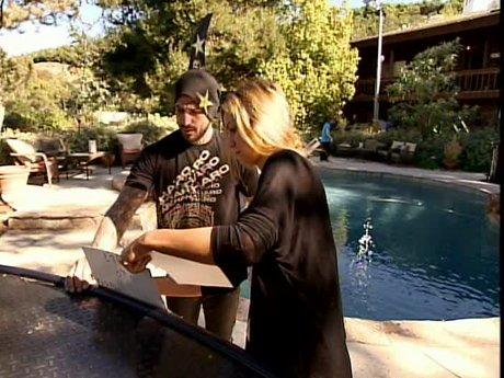 Cory and Nicole prep for their party
