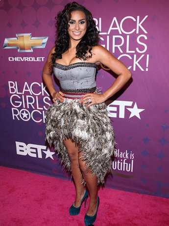 La La Anthony, Laura Govan Stun On The Red Carpet At Black Girls Rock!