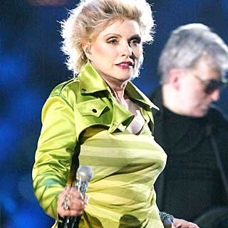 Punk/new wave icon Debbie Harry performs. credit: Kevin Winter/Getty Images