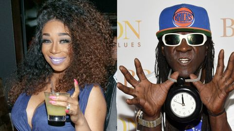Flavor Flav and Tiffany