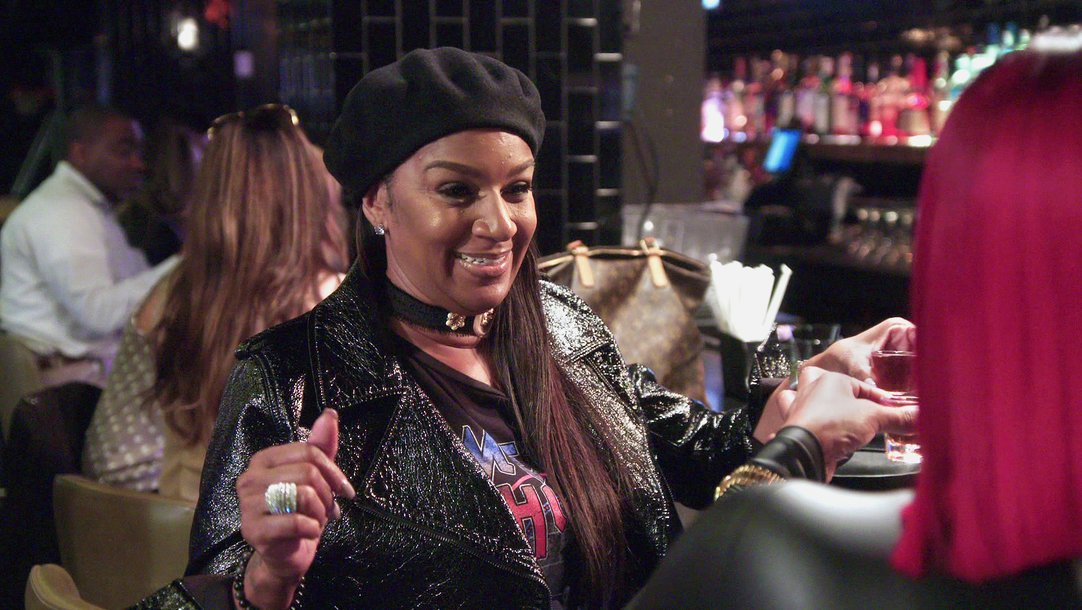 9c0f08ba Exclusive - Jackie and Saniy'yah Turn Up In New York - Basketball Wives  (Video Clip) | VH1