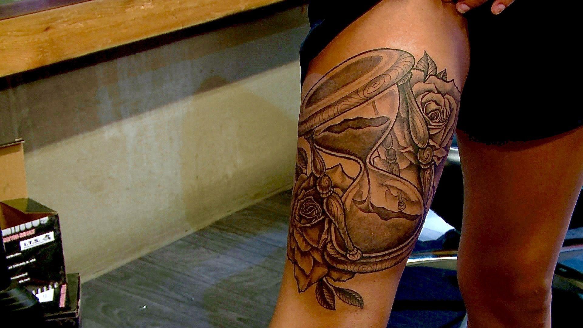 Black ink tattoo chicago