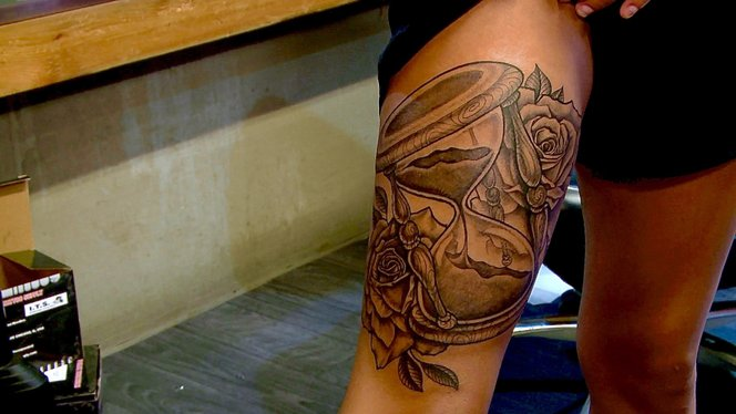 Hourglass Tattoo Black Ink Crew Chicago Video Clip Vh1