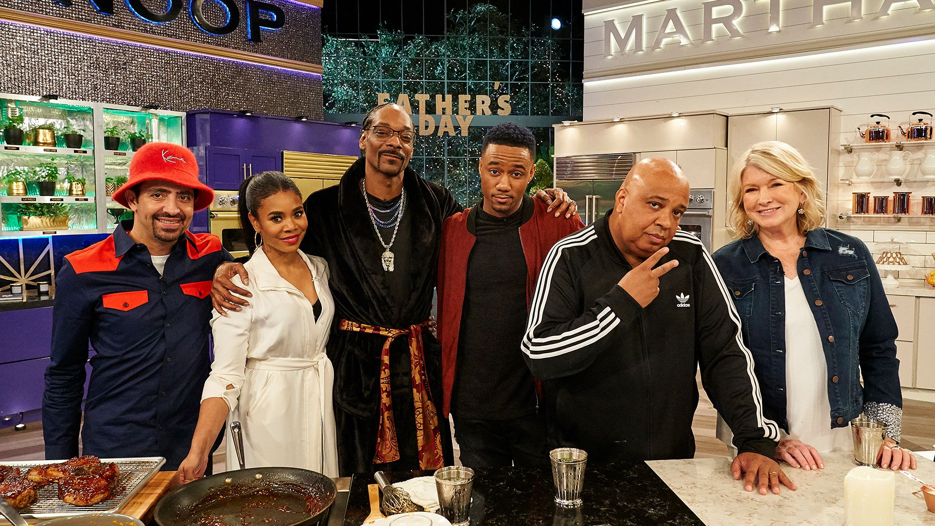 Martha Amp Snoop S Potluck Party Challenge Season 3 Ep 4 Father S Day Food Fight Full