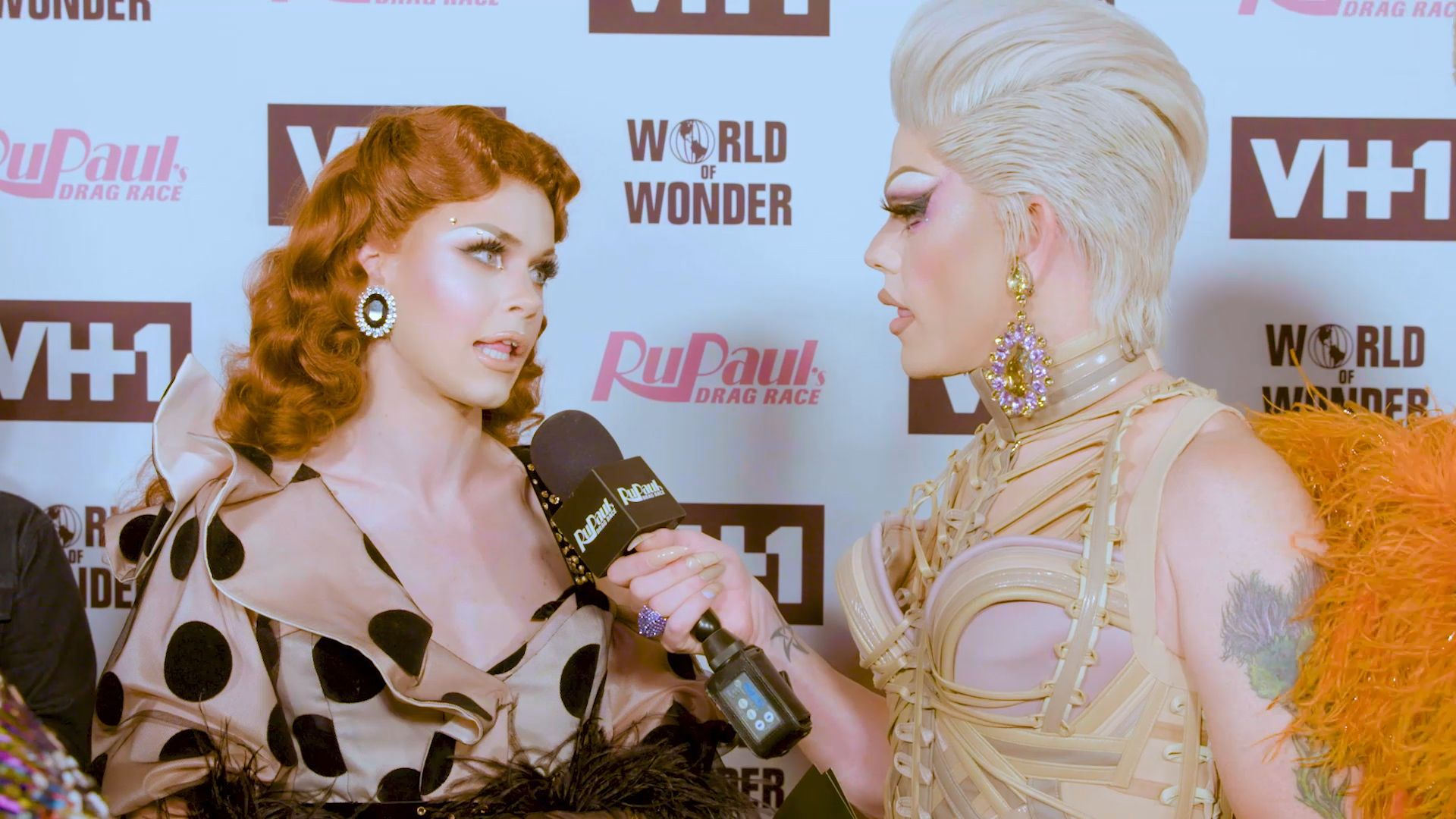 Exclusive On The Red Carpet At The Season 10 Finale Pt 2 Rupaul S Drag Race Video Clip