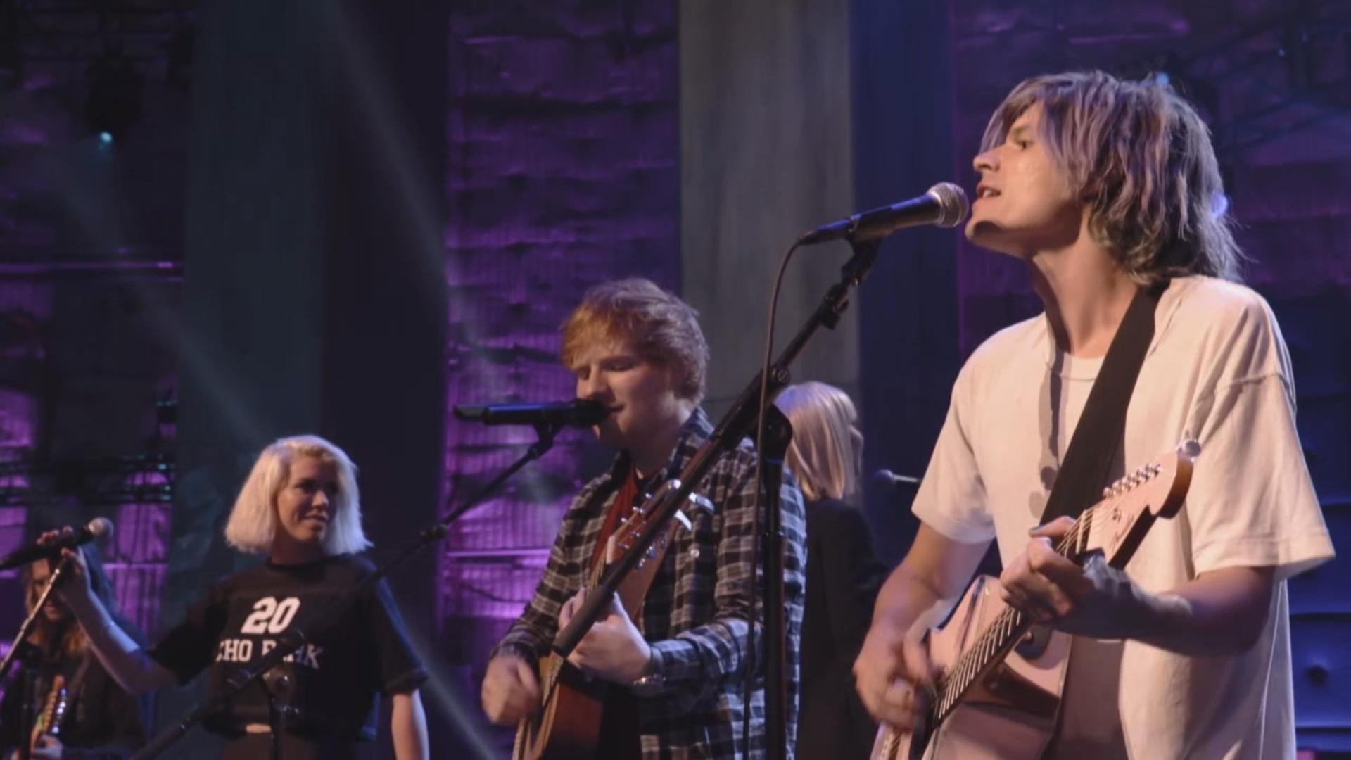 Ed Sheeran, Sia and Grouplove