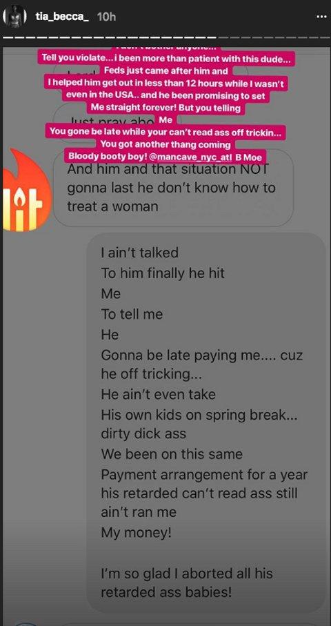 Love & Hip Hop Atlanta's Tiarra Drags Her Ex (aka Malaysia