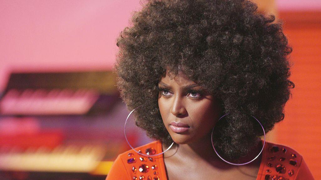Amara La Negra Afro Latina Natural Curly Hair Dark Skin