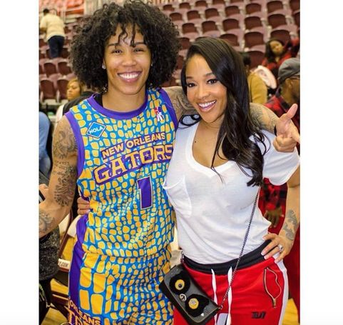Look How Happy Love Hip Hop Atlanta S Mimi Faust Looks With Her Girlfriend Vh1 News